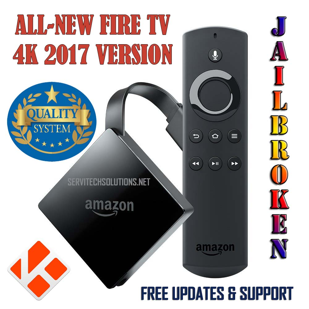 New Fire Tv 4k 2018 Jailbroken Faster Than Firestick Cut